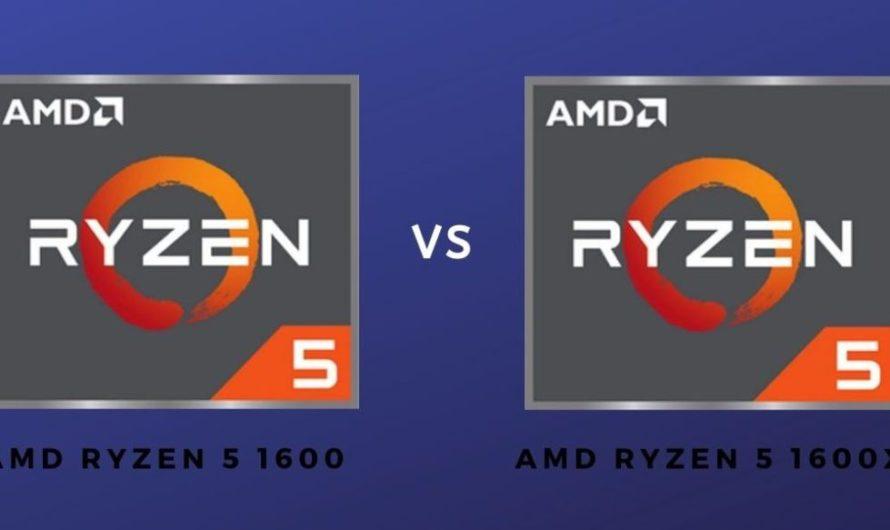 Ryzen 5 1600 vs Ryzen 5 1600X | Is The X Worth It?